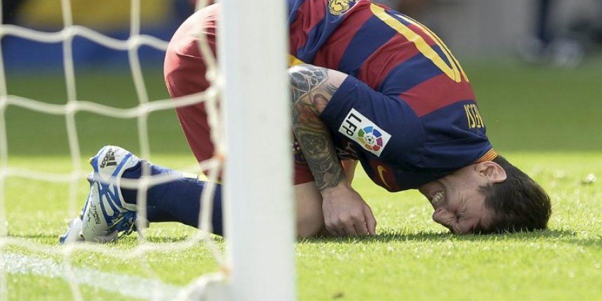 Messi sufre rotura de ligamentos y será baja por ocho semanas