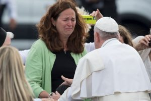 Se espera que el domingo visite a los presos del Instituto Correccional Curran-Fromhold en Filadelfia. Foto:AFP
