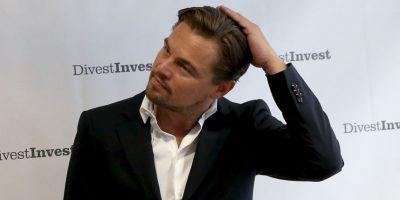 Leonardo DiCaprio cambió de look... se ve mucho más joven  y guapo