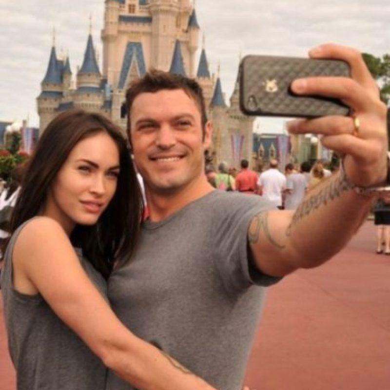 Megan Fox y Brian Austin Green Foto:Getty Images