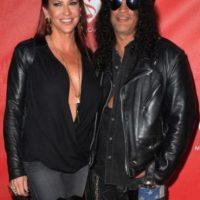 Slash y Perla Hudson Foto:Getty Images