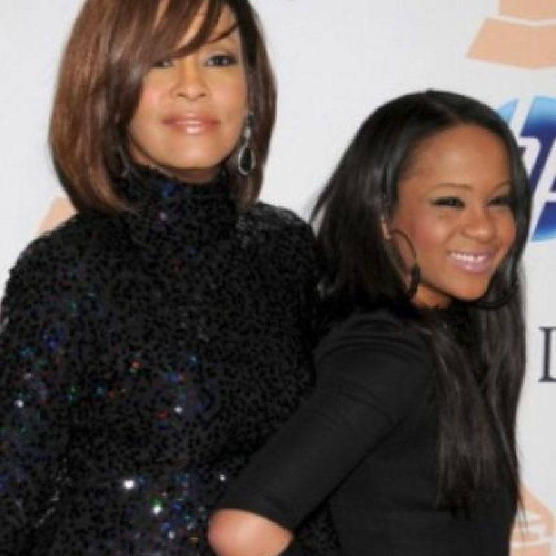 Whitney Houston tuvo una tormentosa relación con su marido, Bobby Brown Foto:Getty Images