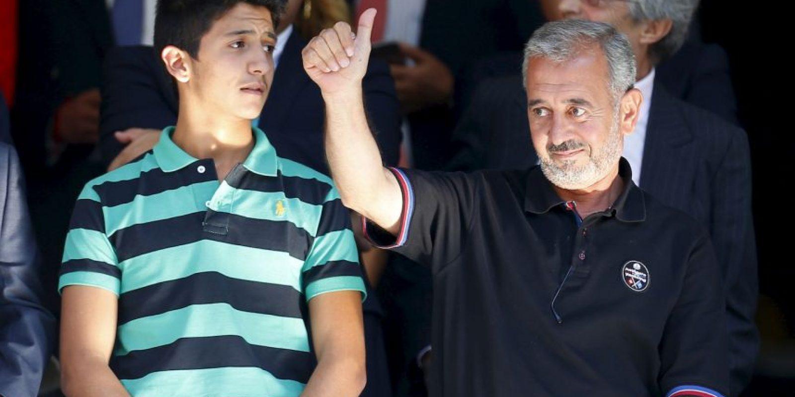 Como lo era en Siria de un equipo de primera división. Foto:AP