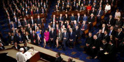 En su discurso abogó por la eliminación de la pena de muerte en el mundo. Foto:AP