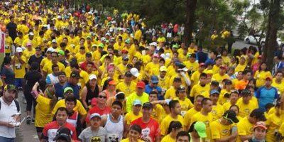 Cientos de guatemaltecos participan en carrera internacional Global Energy