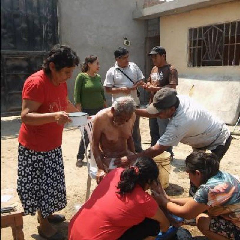 """Vive en Perú y los locales lo conocen como """"el loco Chumán"""". Foto:Vía facebook.com/municipalidaddeferrenafe"""