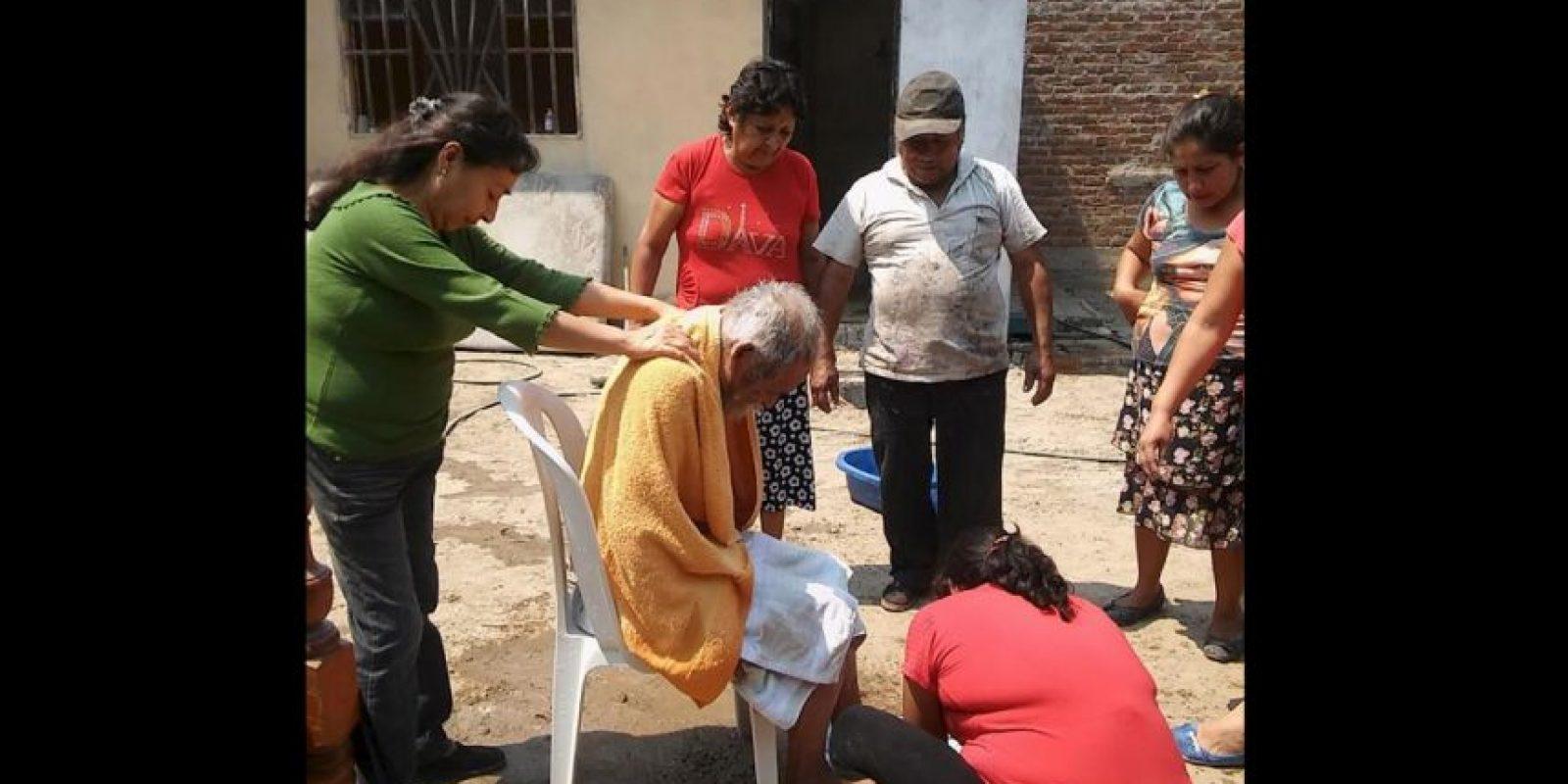 Esto debido a que sufre de esquizofrenia. Foto:Vía facebook.com/municipalidaddeferrenafe