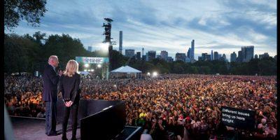 Este año el vicepresidente de Estados Unidos, Joe Biden, también acudió. Foto:Vía Twitter @VP