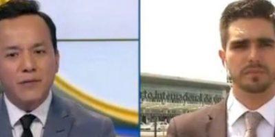 Atropellan a reportero de Fox Sports durante transmisión en vivo