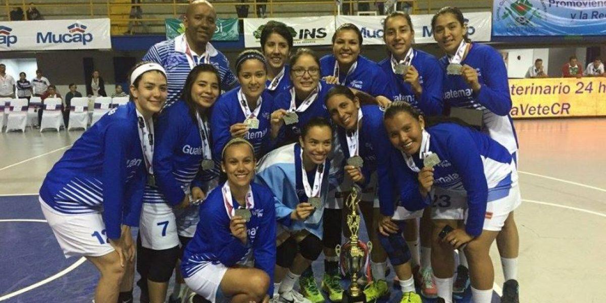 ¡Guatemala subcampeona centroamericana de baloncesto femenino!