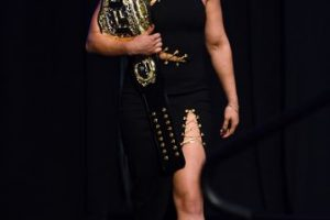 """Y Ronda Rousey tuvo esta """"dulce"""" inspiración en sus primeras peleas. Foto:Getty Images"""
