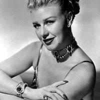 La actriz, bailarina y ganadora de un Oscar, Ginger Rogers. Foto:Wikipedia
