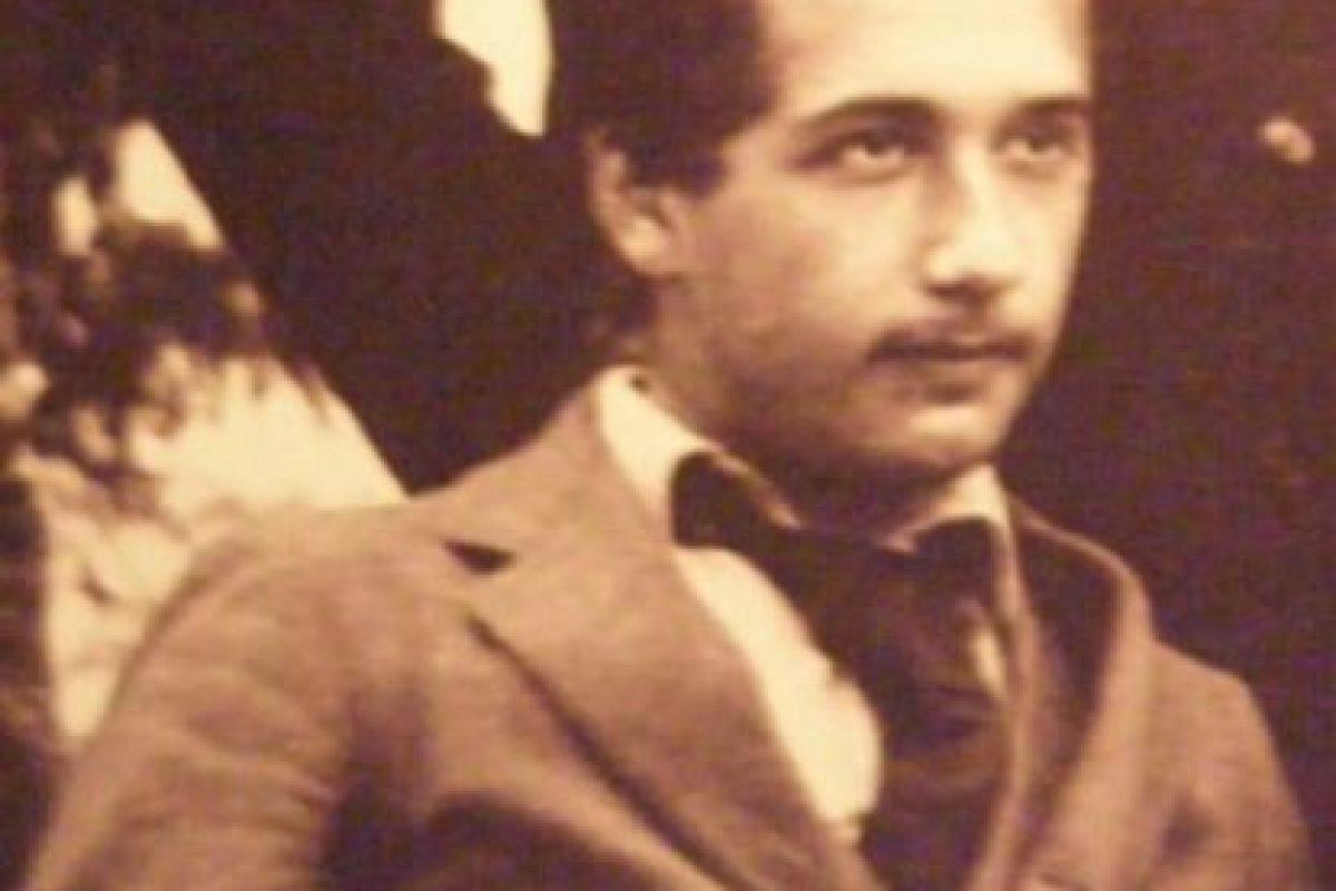 Con este retrato del joven Albert Einstein Foto:vía soulofmatter.wordpress.com