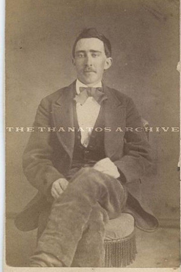 Este hombre que vivió en Tennesse, Estados Unidos, durante la época de la Guerra Civil Foto:Jack Mord/Ebay