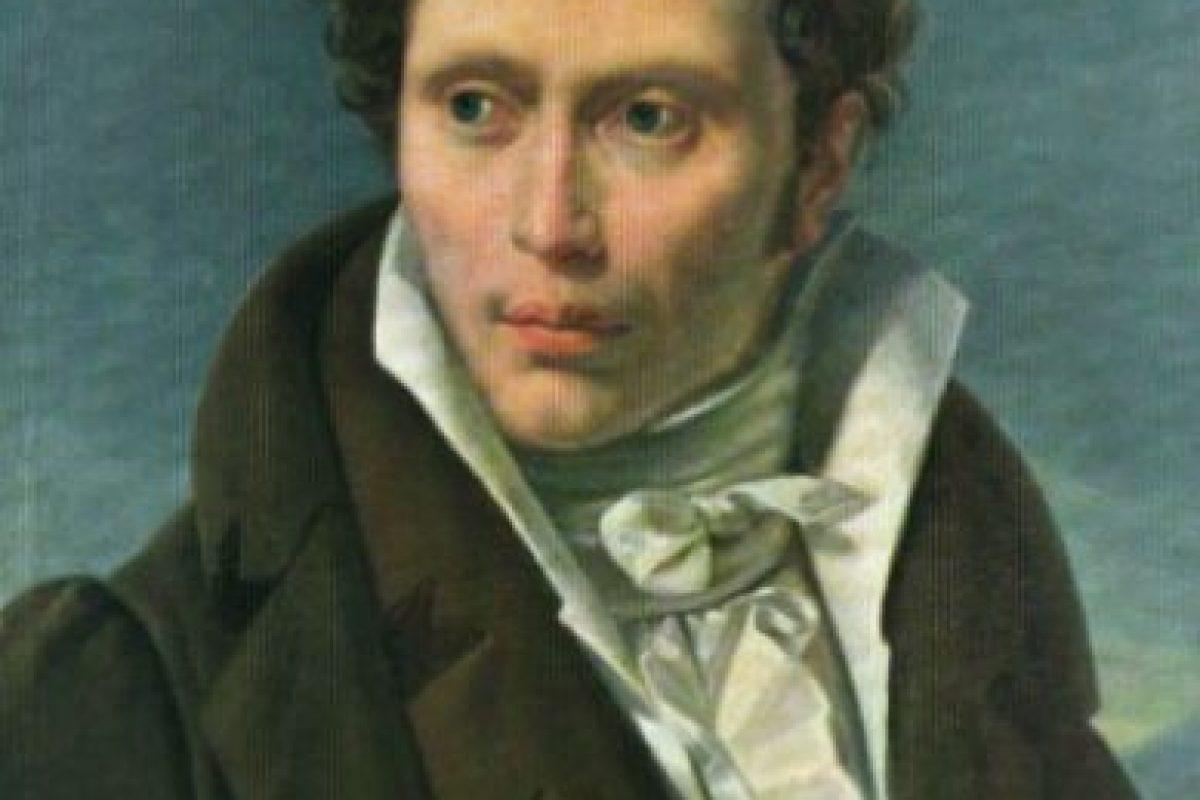 Arthur Schopenhauer, un filósofo alemán del siglo XIX. Foto:Wikipedia