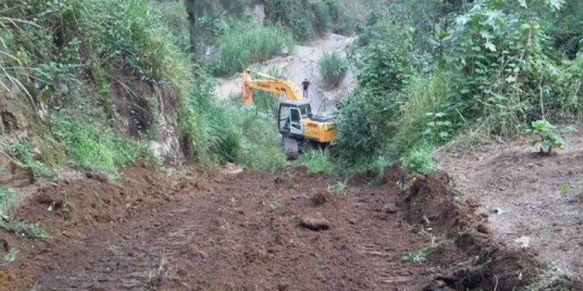 Dos niñas mueren soterradas causa de un derrumbe en Quiché