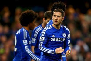 Tras convertirse en el jugador más valioso del Lille y en uno de los mejores de la Ligue 1, Hazard fichó por el Chelsea en 2012 por 32 millones de libras (43.26 millones de euros). Foto:Getty Images
