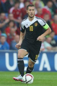 Además, es seleccionado nacional de Bélgica, con la que acudió al Mundial de Brasil 2014. Él y su selección llegaron hasta cuartos de final en este torneo. Foto:Getty Images