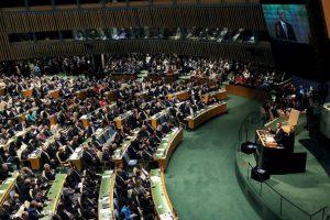 El mandatario pidió el compromiso de todas las naciones contra el conflicto. Foto:Getty Images