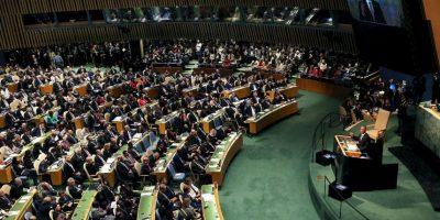 El mandatario aseguró que uno de los problemas de Siria es su administración. Señalo como un tirano al presidente Bashar al-Assad. Foto:Getty Images