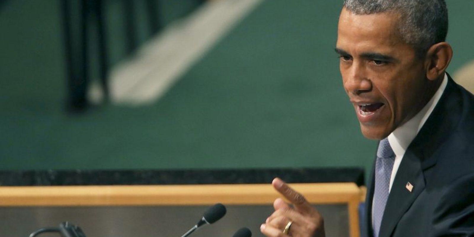 Obama ofreció un discurso hoy. Foto:Getty Images