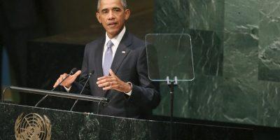 Como primer ponente fue el presidente de Estados Unidos, Barack Obama. Foto:Getty Images