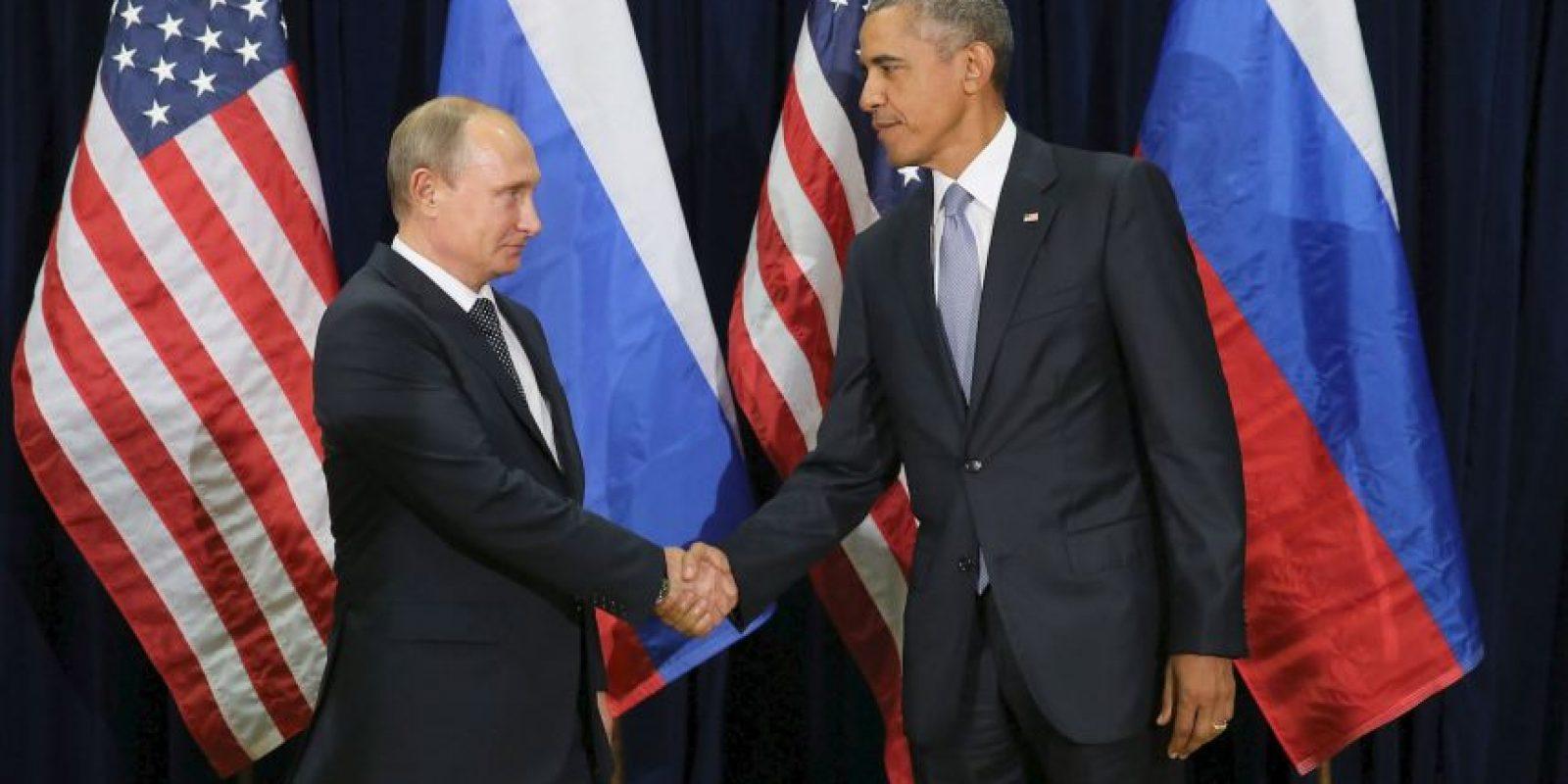 A pesar de sus diferencias los mandatarios tuvieron una reunión bilateral por la tarde, tiempo del este. Foto:Getty Images