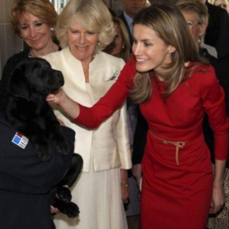 Princesa Letizia de España y Camila, Duquesa de Cornwall Foto:Getty Images