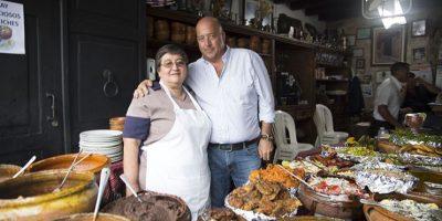 """El revolcado, de la cuevita de los Urquizú, inaugura """"Bizarre Foods"""""""