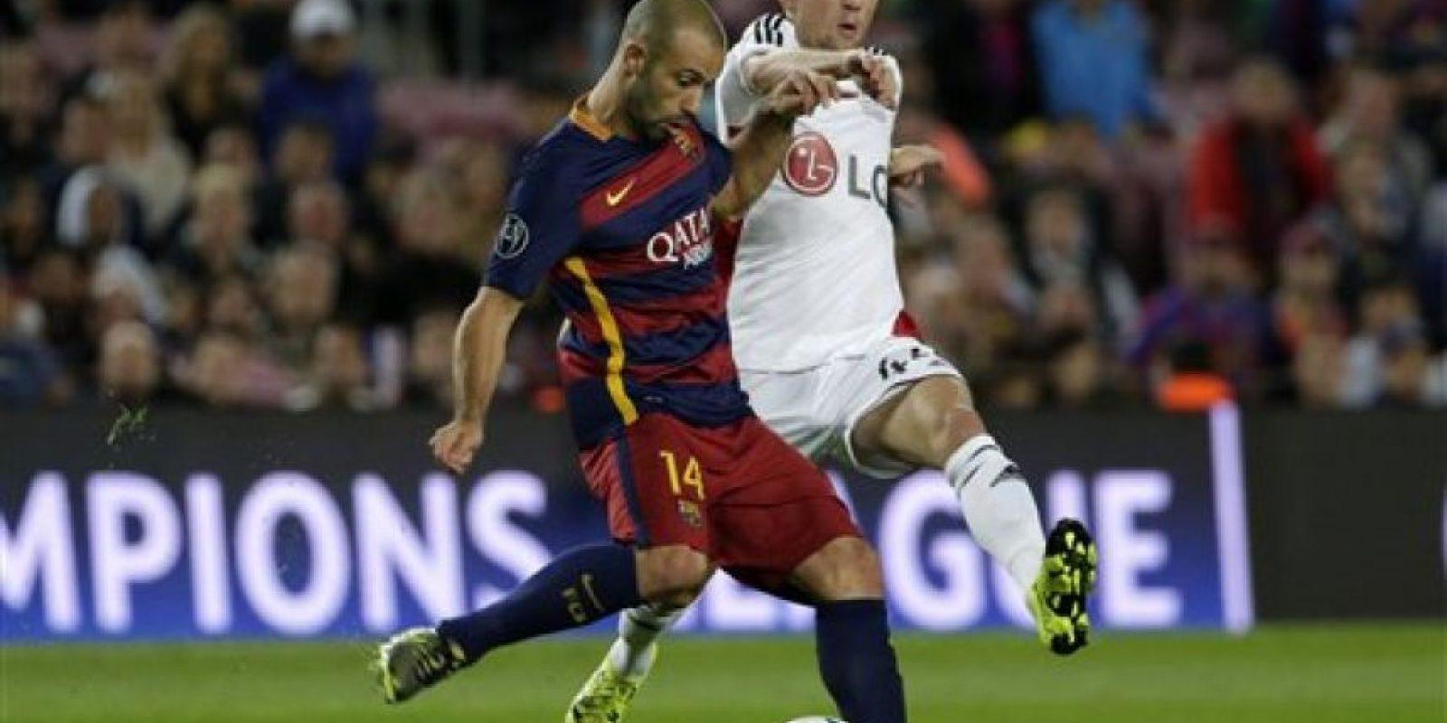 El cuadro azulgrana consiguió en el Camp Nou su segundo triunfo en la competición. Foto:AP