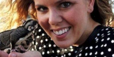 Whitney Fetters de 28 años. Envió por lo menos 20 selfies mostrándose totalmente desnuda. Foto:Twitter.com – Archivo