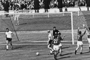 1. Alemania vs. Inglaterra. Final del Mundial Inglaterra 1966. Foto: Getty Images