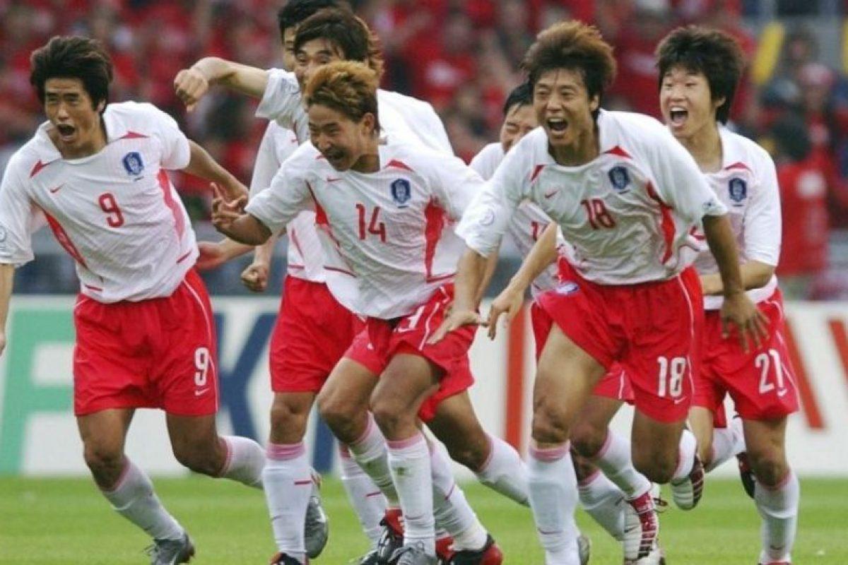 2. Corea del Sur vs. España. Cuartos de final del Mundial Corea-Japón 2002. Foto:Getty Images