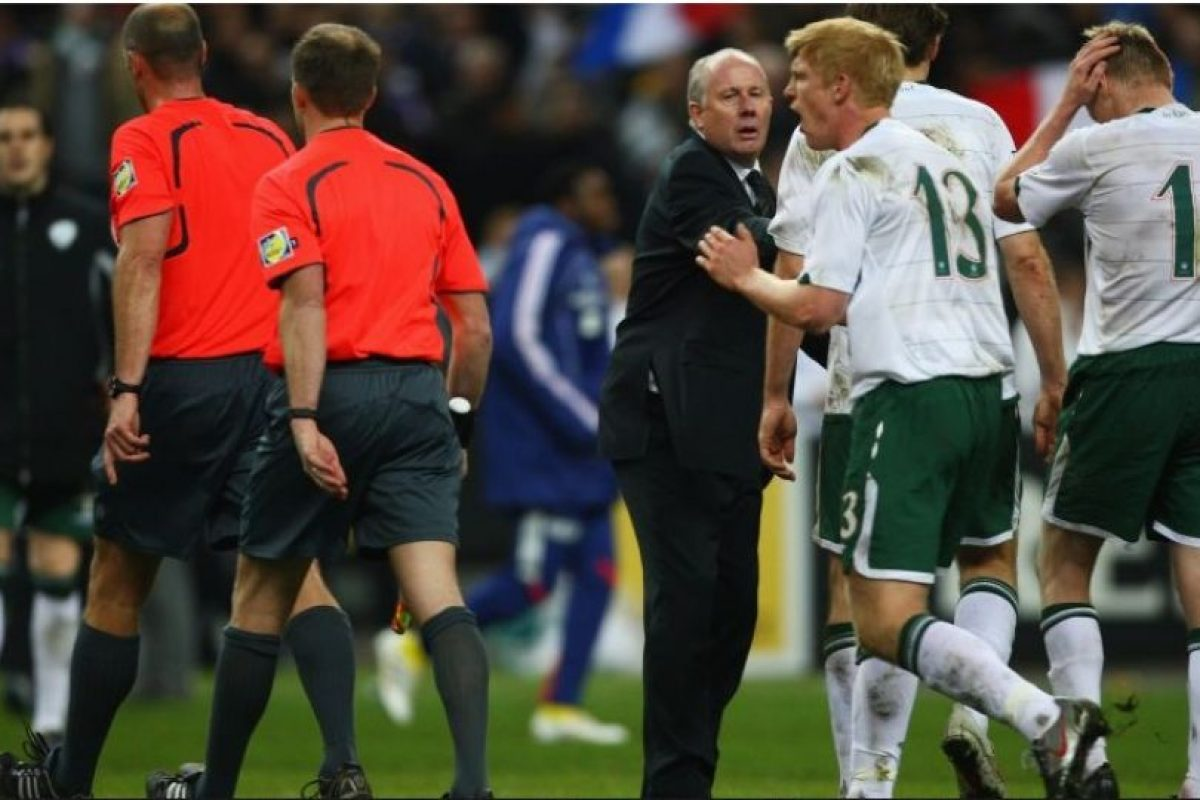4. Francia vs. Irlanda. Repechaje de la UEFA rumbo a Sudáfrica 2010. Foto:Getty Images