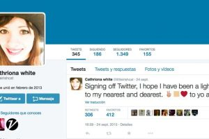 El 24 de septiembre cerró su cuenta de Twitter. Foto:vía instagram.com/littleirishcat
