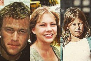 A través de los años, Matilda ha demostrado que heredó los rasgos de sus famosos padres. Foto:vía instagram.com/heathcliffandrewledger