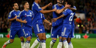 """Los """"Blues"""" debutaron en el torneo europeo con una goleada de 4-0 al Maccabi Tel Aviv de Israel. Foto:Getty Images"""