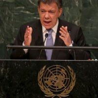 """Prometió regresar en 2016 siendo presidente de una """"Colombia reconciliada"""" Foto:Getty Images"""
