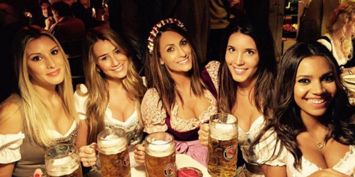 Fotos: Las novias del Bayern Múnich deslumbran en el Oktoberfest