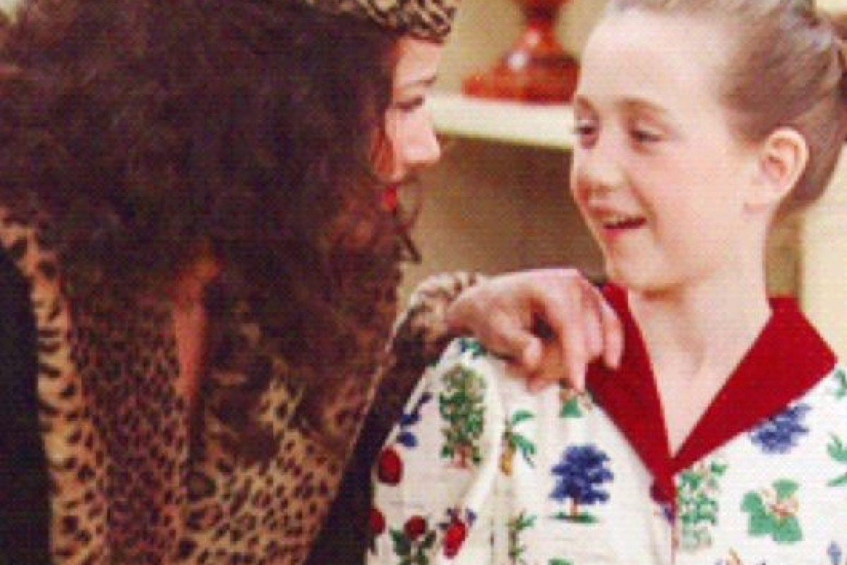 """Ella era """"Grace"""" en """"La Niñera"""", la menor de las hijas del """"Señor Sheffield"""". Foto:vía CBS"""