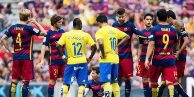 """La última lesión que había sufrido la """"Pulga"""" es de 2013. En noviembre de ese año, Messi estuvo ocho semanas de baja por la rotura del bíceps femoral izquierdo. Foto:Getty Images"""