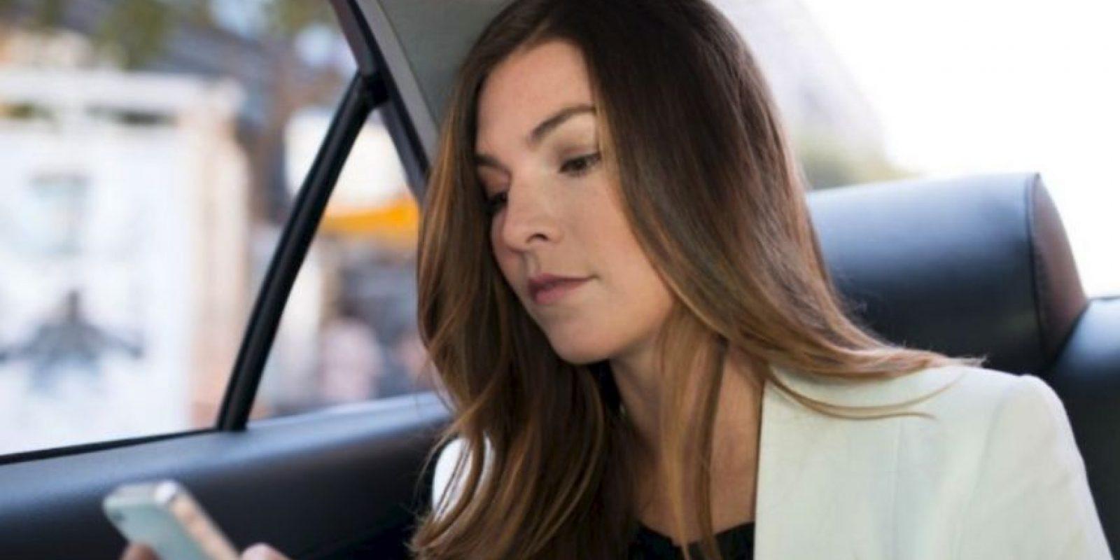 9- Porque atiende a un público diferente al de los taxis y con necesidades específicas Foto:Uber