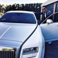 """Dos días después de recibir su auto, se estrelló en un túnel cercano al aeropuerto de Manchester y aunque el crack salió ileso, su """"joyita"""" quedó destrozada. Foto:Vía instagram.com/Cristiano"""