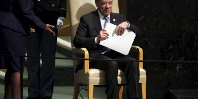 Juan Manuel Santos, presidente de Colombia Foto:AP