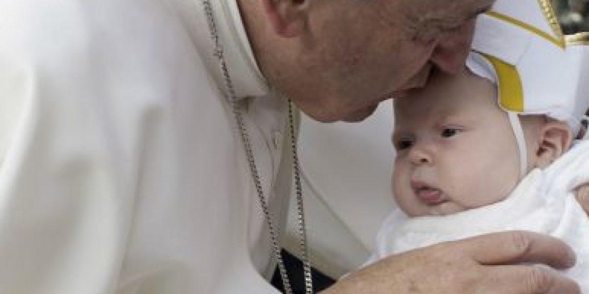 Fotos: Esta es la bebé que se robó el corazón del papa Francisco