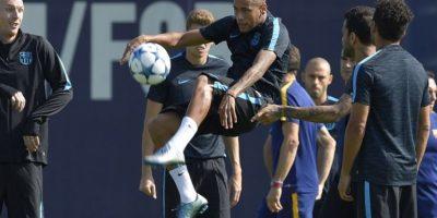 Neymar ha sido objeto de varias polémicas desde que llegó al Barcelona. Foto:AFP