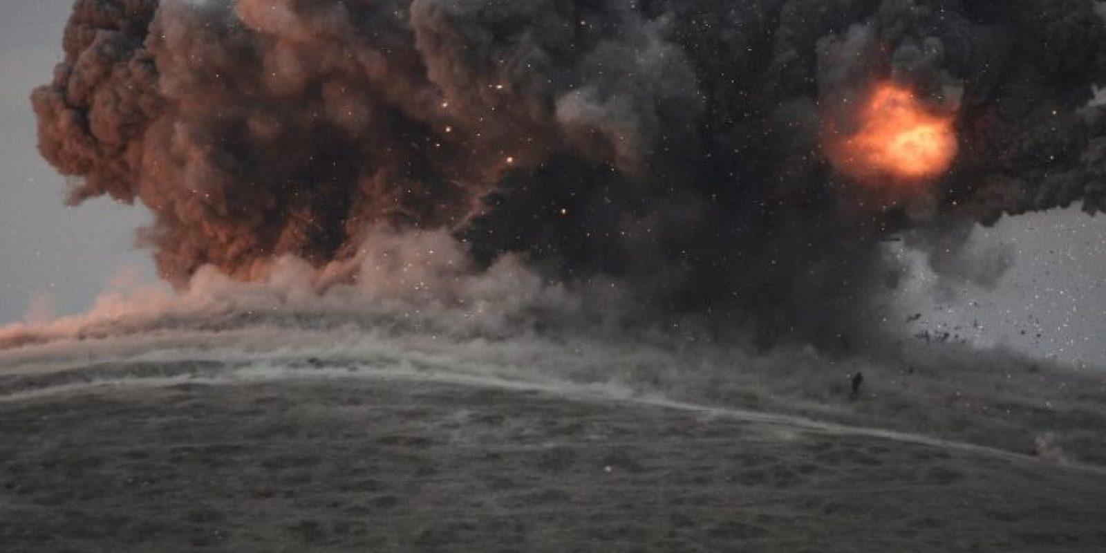 El tema es que ha establecido una estrategia de bombardeos y eso, de alguna otra manera, ha tenido consecuencias colaterales Foto:Getty Images