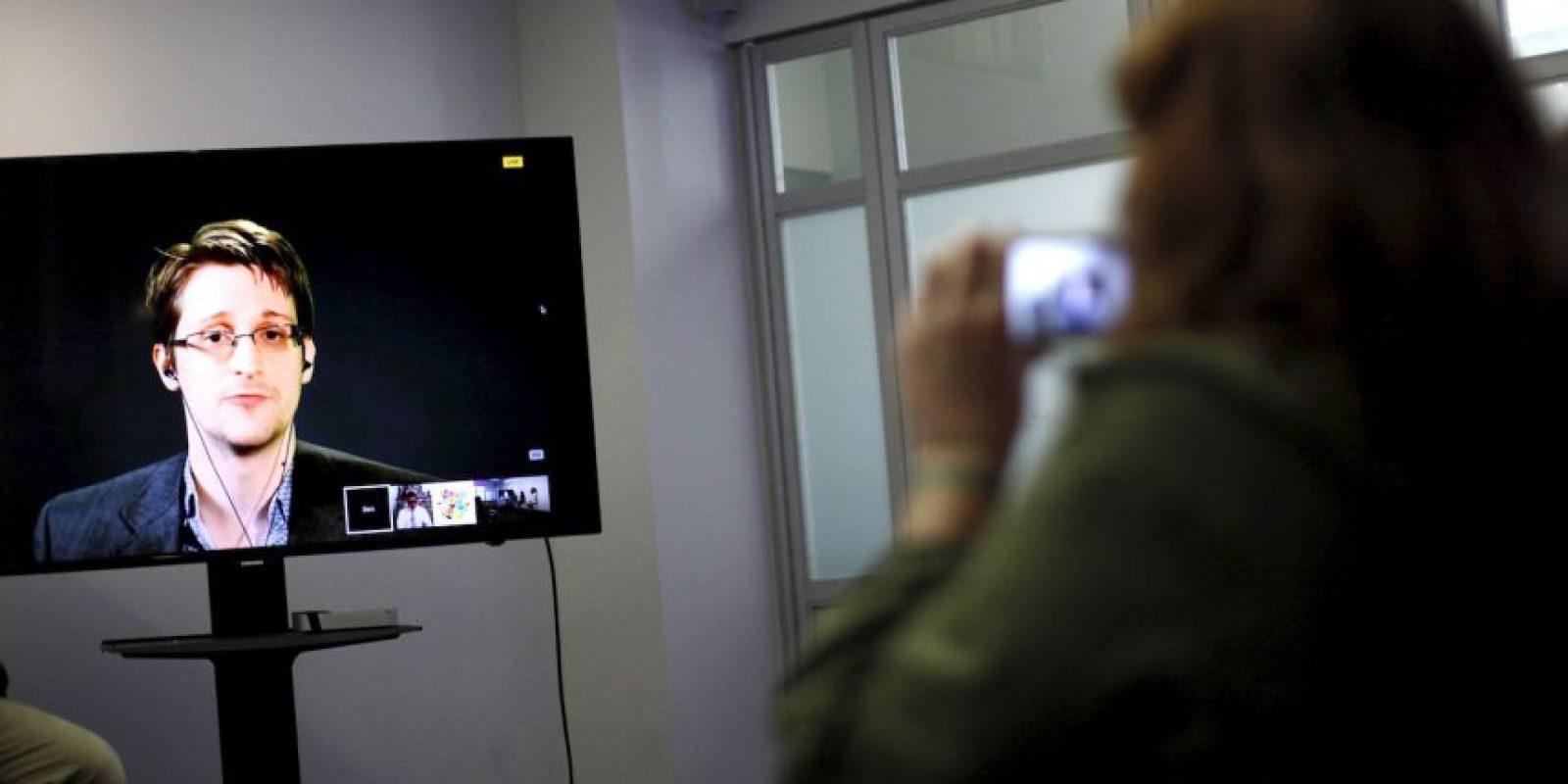 Actualmente el exanalista se encuentra refugiado en Rusia. Foto:AFP