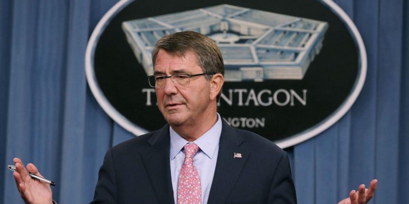 """Debido a estos ataques el Secretario de Defensa de Estados Unidos, Ash Carter los señaló """"equivalentes a echar gasolina al fuego"""". Foto:AFP"""