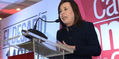 Sandra Torres presenta su plan de trabajo ante la Cámara de Comercio